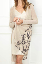 Zero Degrees Celsius Lace Duster Cardigan - Front cropped
