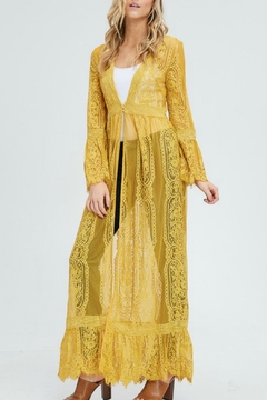 In Loom Lace Duster Cardigan - Alternate List Image
