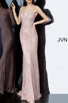 Jovani PROM Lace Embellished Gown - Product List Image
