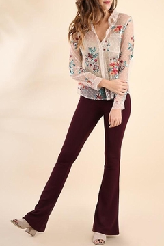 Umgee USA Lace Embroidered Blouse - Alternate List Image