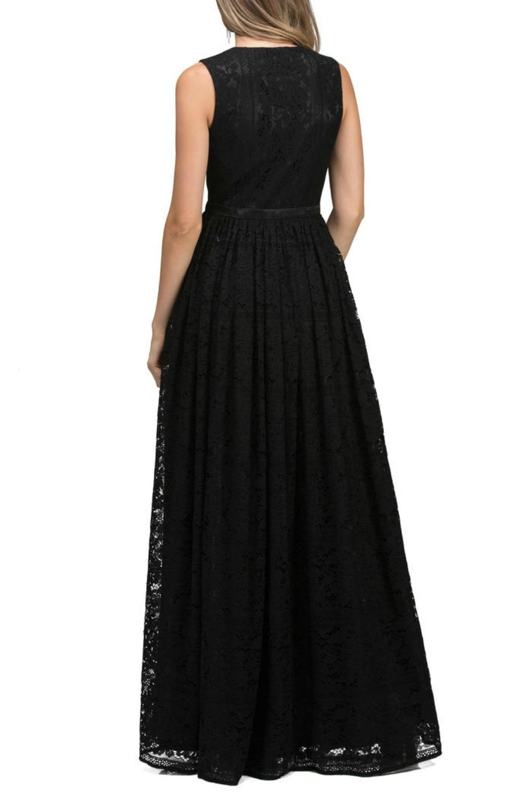 Lucci Lu Lace Empire Gown - Front Full Image