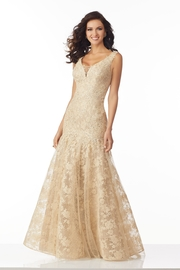 MGNY Lace Evening Gown, - Product Mini Image