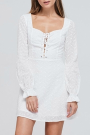 Pretty Little Things Lace Eyelet Dress - Product Mini Image