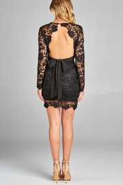Racine Lace Fitted Dress - Product Mini Image