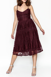 BB Dakota Lace Flare Dress - Product Mini Image
