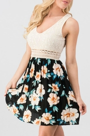 Modern Emporium Lace Floral Dress - Product Mini Image
