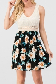 Modern Emporium Lace Floral Dress - Front full body