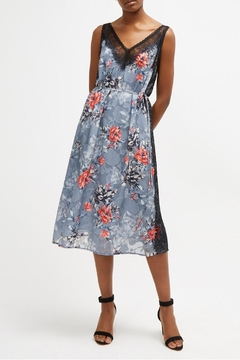 French Connection Lace Floral Slip - Product List Image