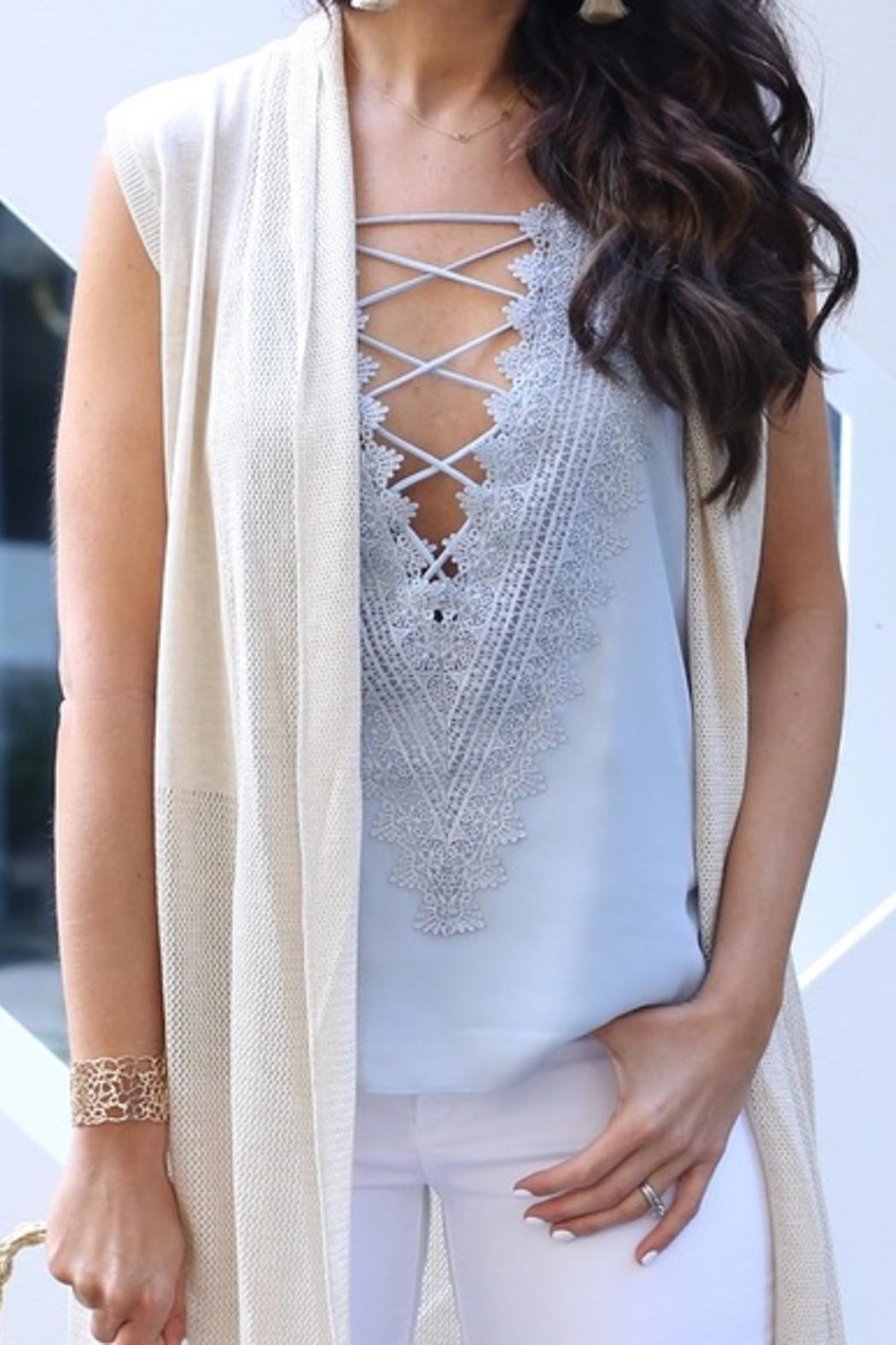 Wayf Lace Front Camisole - Main Image