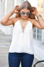 Wayf Lace Front Camisole - Product Mini Image