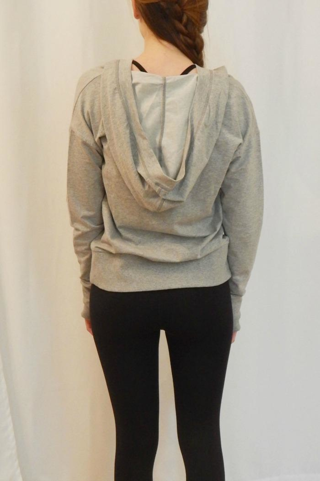 BODY GLOVE Lace Front Hoodie - Front Full Image