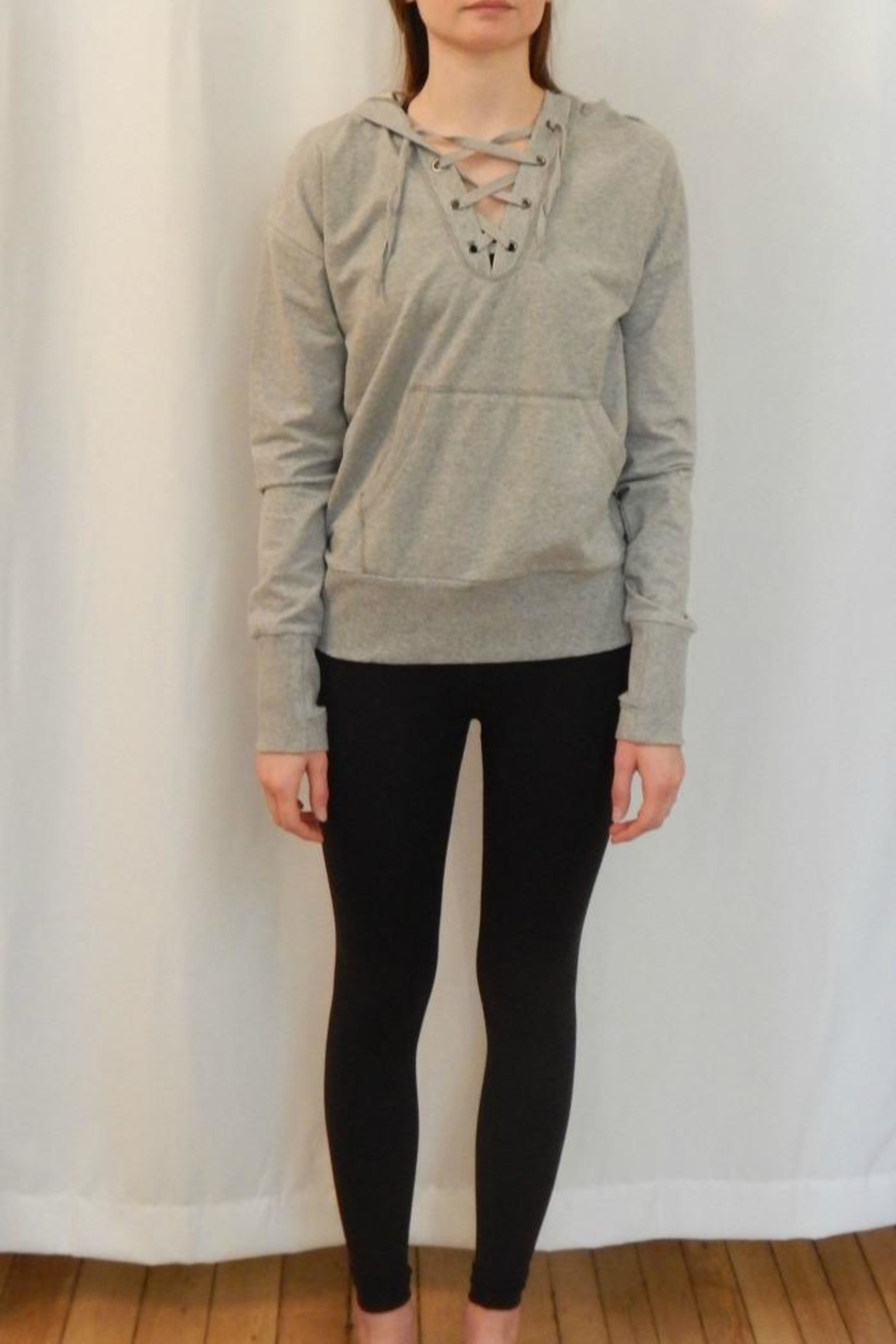 BODY GLOVE Lace Front Hoodie - Main Image