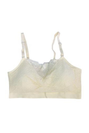 Coobie Lace Front Padded Bra - Front cropped