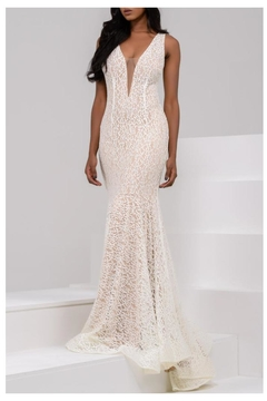 Jovani PROM Lace Gown - Product List Image