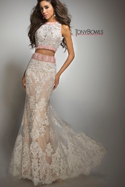 Tony Bowls Lace Gown - Product Mini Image