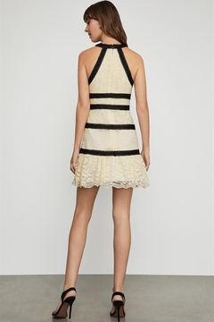 BCBG Max Azria Lace Halter Dress - Alternate List Image