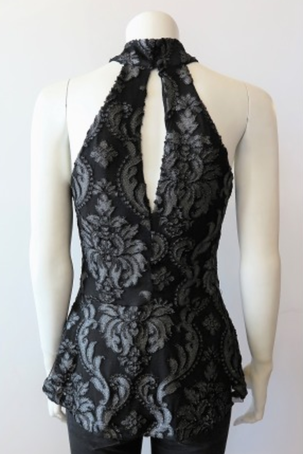Veronica M Lace Halter Top - Front Full Image