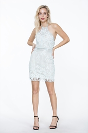 The Room Lace Halter-Top Dress - Product Mini Image