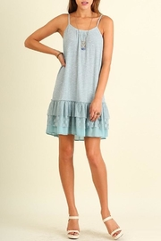 People Outfitter Lace Hem Dress - Product Mini Image