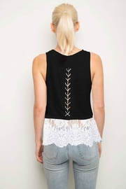 Generation Love  Lace Hem Tank - Product Mini Image