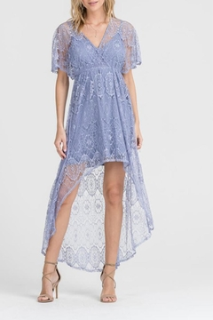 Shoptiques Product: Lace Hi-Lo Dress