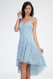 Minuet Lace Hi-Low Dress - Product Mini Image