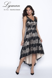 Frank Lyman Lace High-Low Formal Dress - Product Mini Image