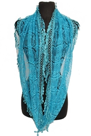 Cap Zone Lace Infinity Scarf - Product Mini Image
