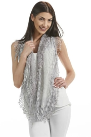 Gift Craft Lace Infinity Scarf - Front full body