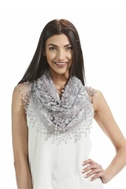 Gift Craft Lace Infinity Scarf - Front cropped