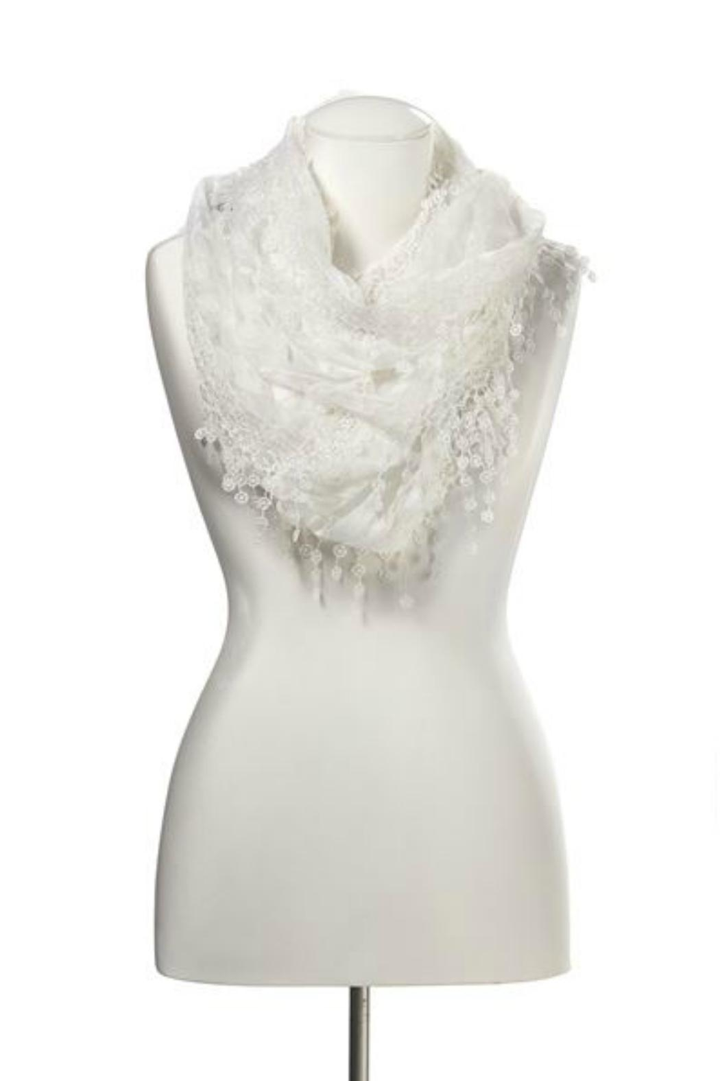 Gift Craft Lace Infinity Scarf - Main Image
