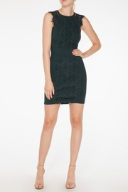 Mystic Lace Inset Dress - Front cropped