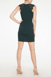 Mystic Lace Inset Dress - Front full body