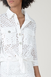 Molly Bracken LACE JACKET TIE FRONT - Other