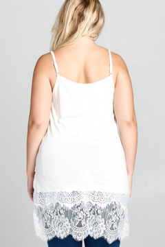 Oddi  Lace Layering Cami - Alternate List Image