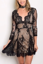 Banjul Lace LBD - Front cropped