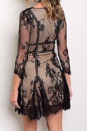 Banjul Lace LBD - Front full body