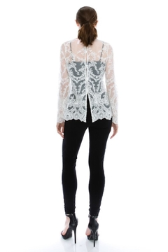 virgin only Lace Long-Sleeve Blouse - Alternate List Image