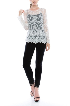 virgin only Lace Long-Sleeve Blouse - Product List Image