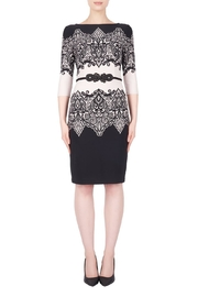 Joseph Ribkoff Lace-Look Accent Dress - Product Mini Image