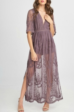Pretty Little Things Lace Maxi Dress - Product List Image