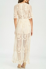 Pretty Little Things Lace Maxi Dress - Front full body