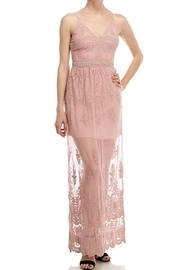 The Clothing Co Lace Maxi Dress - Product Mini Image