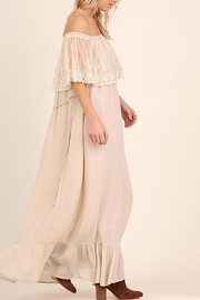 Entro Lace Maxi Dress - Side cropped