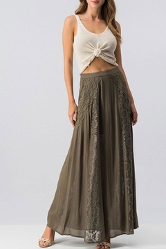 Shoptiques Product: Lace-Maxi-Skirt With Lining