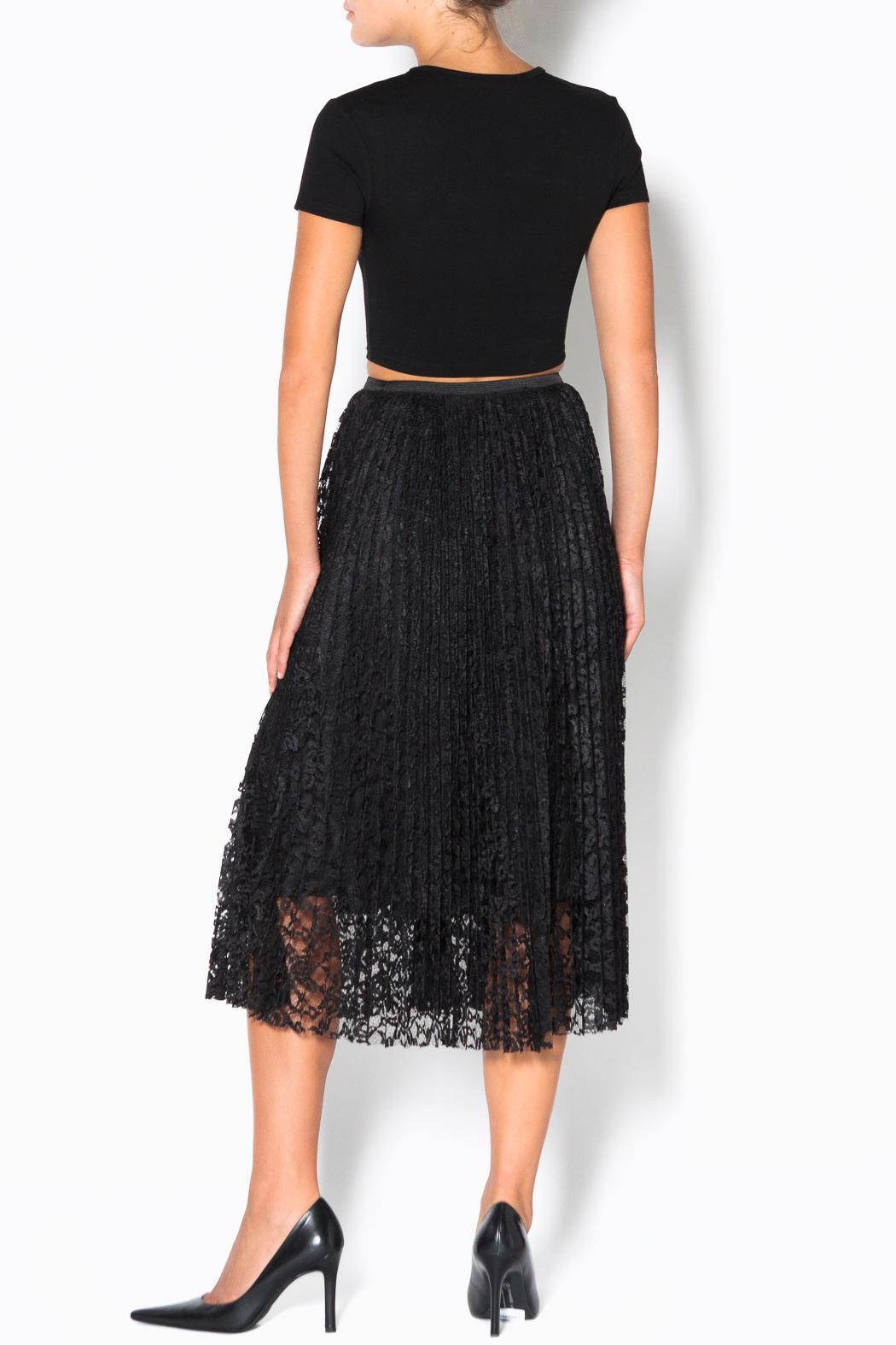 lace midi skirt from vancouver by the scoop