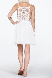 En Creme Lace Mini Dress - Product Mini Image
