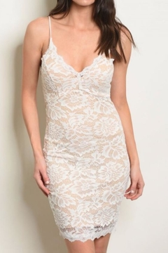 Hello Miss Lace Mini Dress - Product List Image