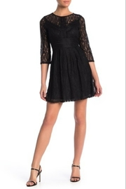 blu Pepper  lace mini dress - Product Mini Image