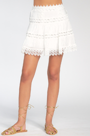 Elan  LACE MINI SKIRT - Product Mini Image